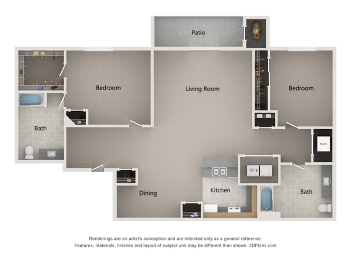 The Lewis Floor Plan Image