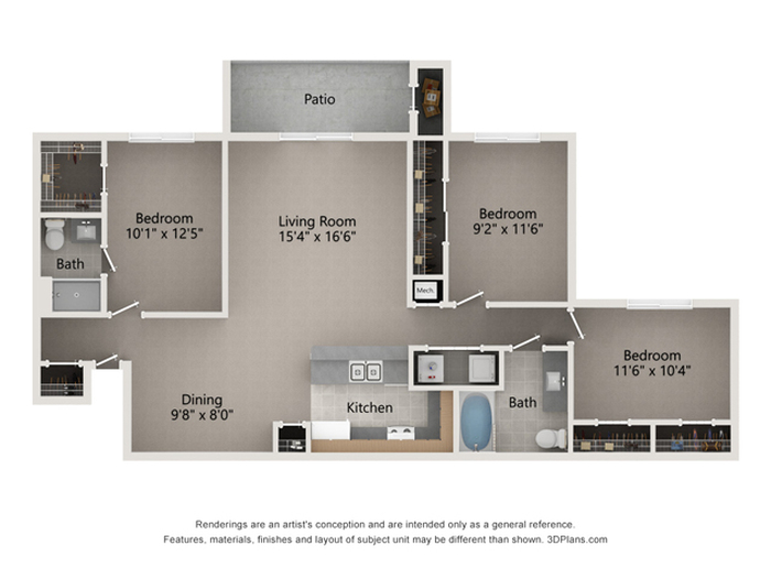 The Newman Floor Plan Image