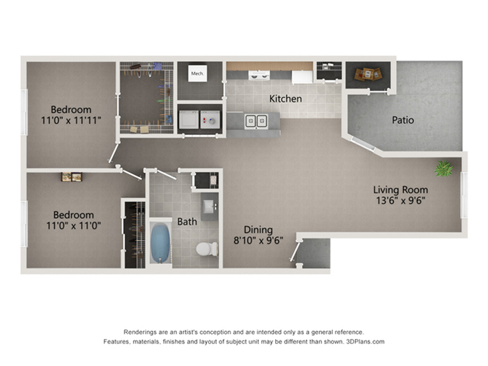 The Chesterton Floor Plan Image